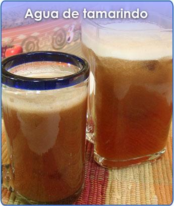 Receta para pteparar agua de tamarindo