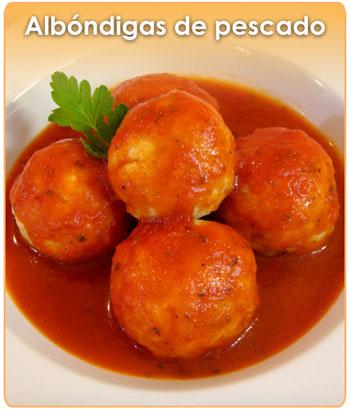 ALBONDIGAS DE PESCADO