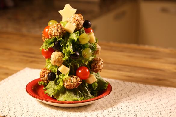 árbol de navidad botanero