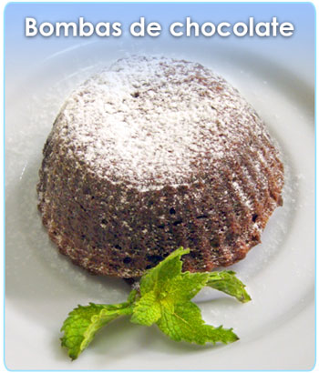 BOMBAS DE CHOCOLATE