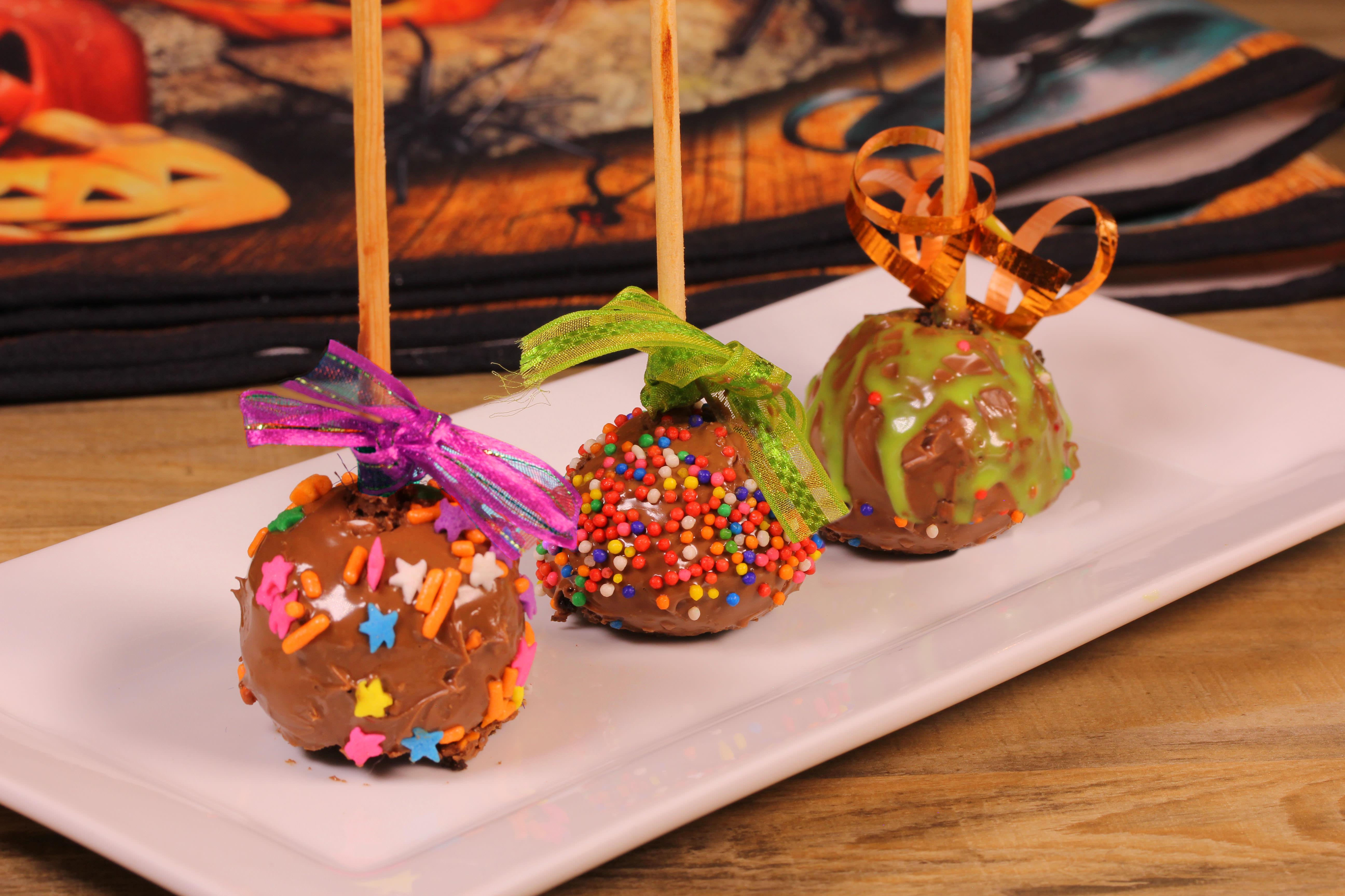 cakes pops para halloween