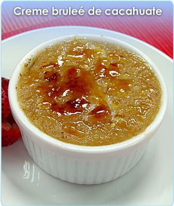 CREME BRULEE DE CACAHUATE