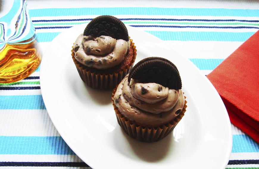 CUP CAKES DE OREO
