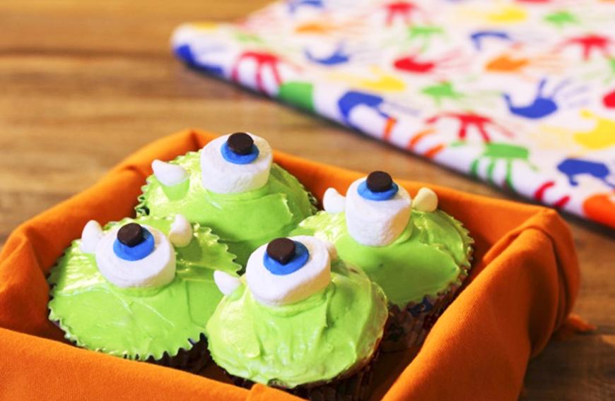 cup cakes mike wazowski