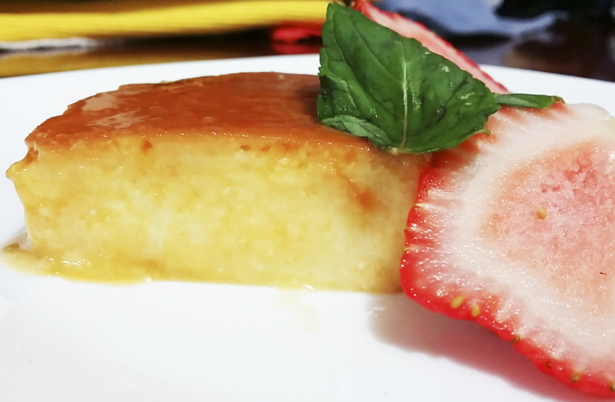 FLAN DE REQUESÓN