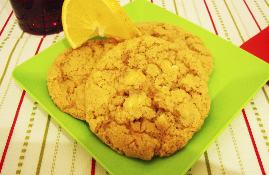 GALLETAS DE NARANJA CON CHOCOLATE BLANCO