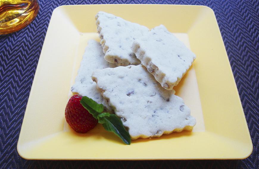 galletas de nuez sin azúcar