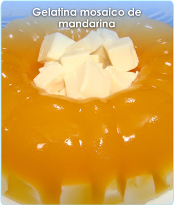 GELATINA MOSAICO DE MANDARINA
