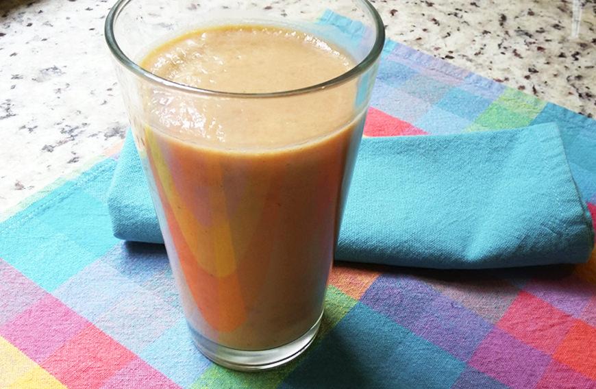 Receta para pteparar jugo de papaya y plátano