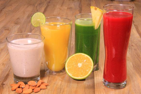 Receta para pteparar jugo verde desintoxicante