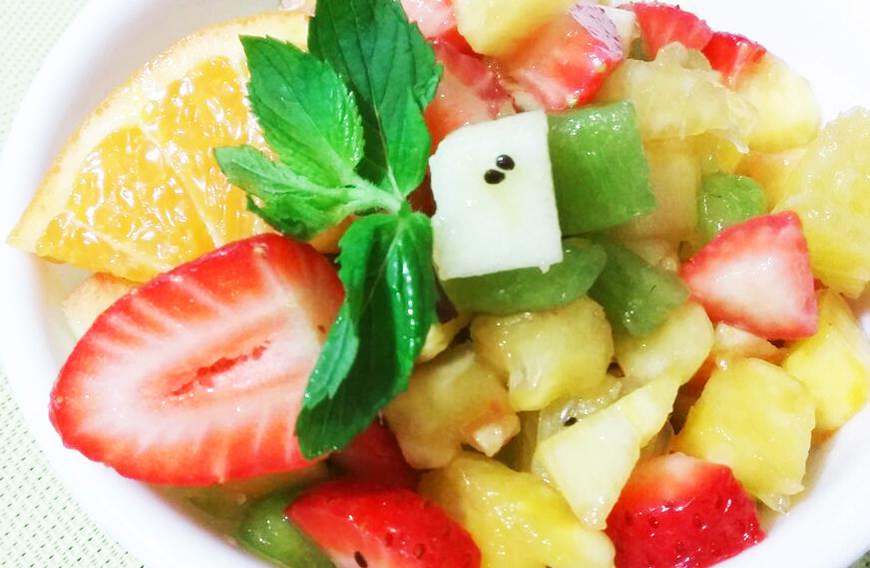 Receta para cocinar sopas y cremas macedonia de frutas - Macedonia de frutas thermomix ...