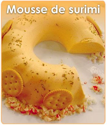 MOUSSE DE SURIMI