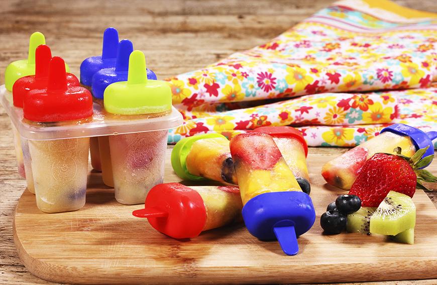 paletas heladas de fruta