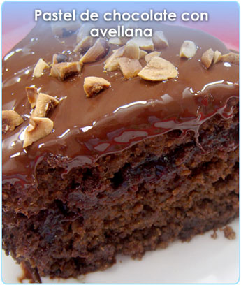 PASTEL DE CHOCOLATE CON AVELLANA