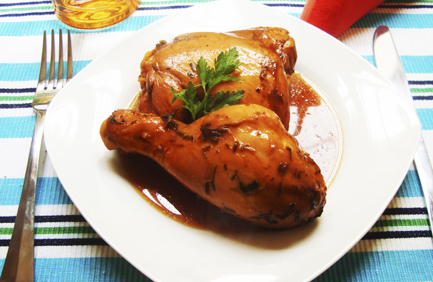 POLLO GLASEADO