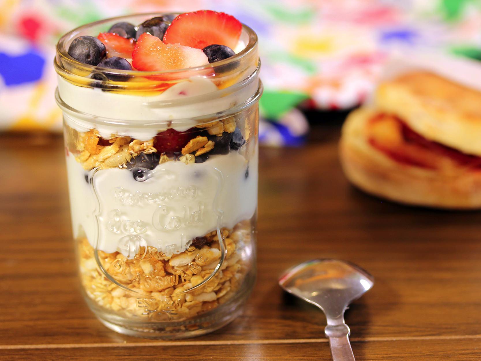 Receta para pteparar preparados de avena con fruta