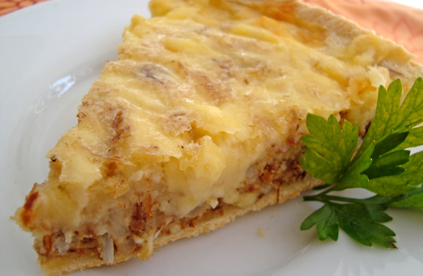 QUICHÉ DE MACHACA