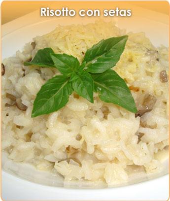 C mo preparar risotto con setas for Como cocinar risotto de setas