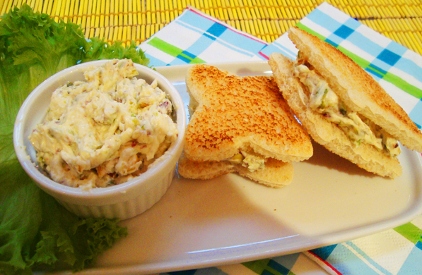 sandwichitos de queso y pistaches