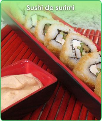 sushi de surimi