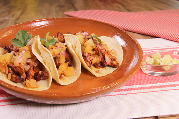 Tacos al pastor caseros receta tattoo design bild - Tacos mexicanos de pollo ...