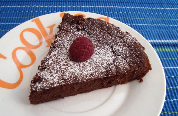 tarta de chocolate sin harina