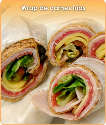 WRAP DE CARNES FR�AS